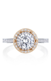 Tacori Crescent Chandelier Engagement Ring HT2570RD65PK