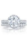Tacori Petite Crescent Engagement Ring HT254725RD8