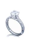 Tacori Reverse Crescent Engagement Ring 2617RD7