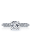 Tacori Reverse Crescent Engagement Ring 2616RD65