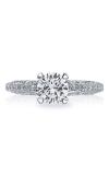 Tacori Classic Crescent Engagement Ring 2616RD65PK