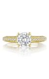 Tacori Classic Crescent Engagement Ring 2616RD65Y