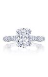 Tacori Classic Crescent RoyalT Engagement Ring HT2667OV10X8