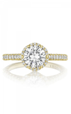 Tacori Petite Crescent Engagement ring, HT2547RD7Y product image