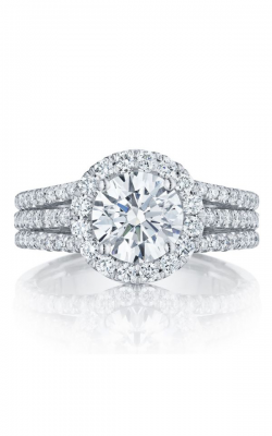 Tacori Petite Crescent Engagement Ring HT2551RD75W product image