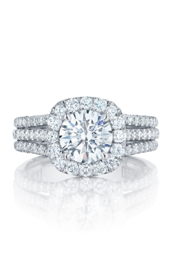 Tacori Petite Crescent Engagement ring HT2551CU75W product image