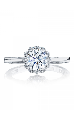 Tacori Sculpted Crescent Engagement ring 59-2RD65W product image