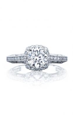 Tacori Reverse Crescent Engagement Ring 2618CU65PK