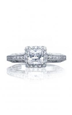 Tacori Reverse Crescent Engagement Ring 2618PR5Y