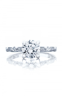 Tacori Sculpted Crescent Engagement ring 202-2RD7W product image