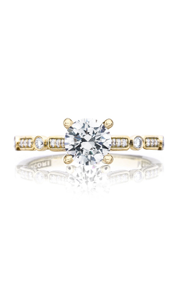 Tacori Sculpted Crescent Engagement ring 202-2RD6Y product image