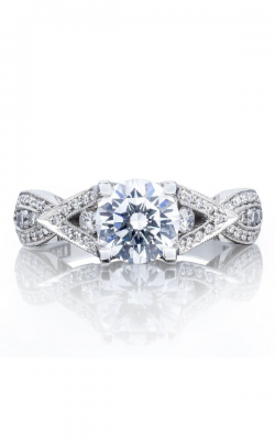 Tacori Ribbon Engagement Ring 2647RD65W