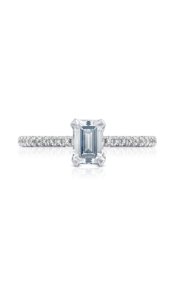 Tacori Petite Crescent Engagement ring, HT254515EC65X45W product image