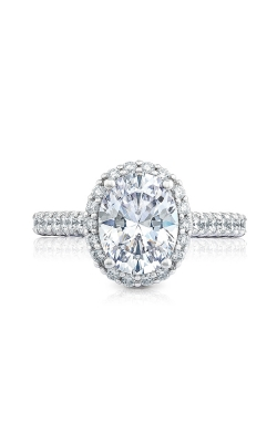 Tacori Petite Crescent Engagement Ring HT254725OV95X75W product image
