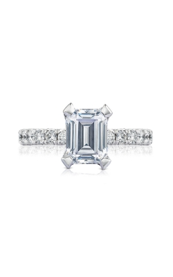 Tacori Petite Crescent Engagement ring, HT254525EC85X65W product image