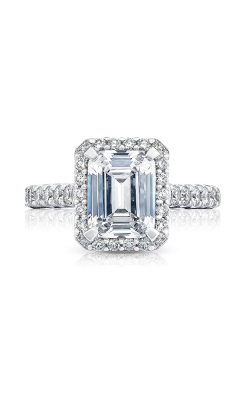 Tacori Petite Crescent Engagement ring, HT254725EC9X7W product image
