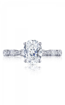 Tacori Petite Crescent Engagement Ring HT2559OV85X65W product image