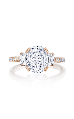 Tacori RoyalT Engagement ring HT2655OV95X75PK product image