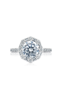 Tacori Petite Crescent Engagement ring HT2556RD8W product image