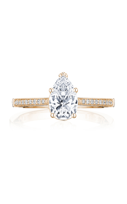 Tacori Coastal Crescent Engagement ring P102PS85X55FPK product image