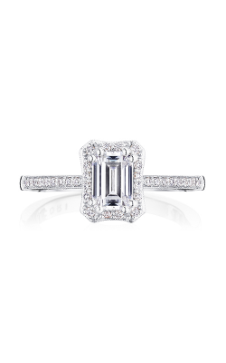 Tacori Coastal Crescent Engagement ring P103EC65X45FW product image
