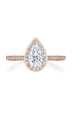 Tacori Coastal Crescent engagement ring P103PS85X55FPK product image