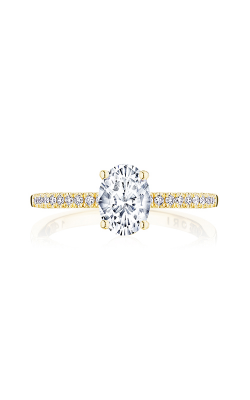 Tacori Coastal Crescent Engagement ring P104OV75X55FY product image