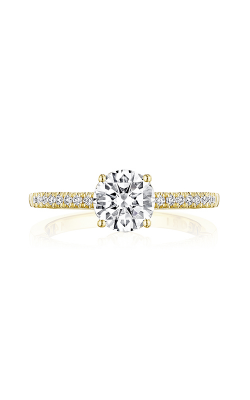 Tacori Coastal Crescent Engagement ring P104RD65FY product image