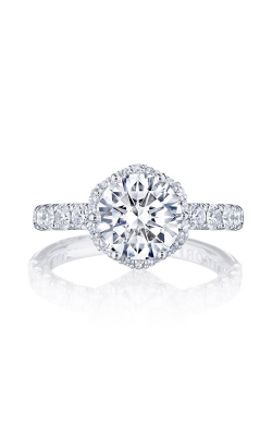 Tacori Petite Crescent Engagement Ring HT257225RD8W product image
