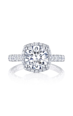 Tacori Petite Crescent Engagement ring HT257225CU85W product image