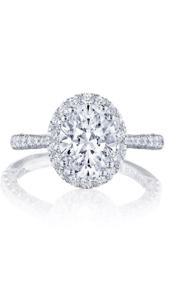 Tacori Petite Crescent Engagement ring HT2571OV9X7W product image