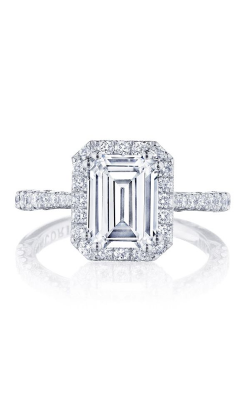 Tacori Petite Crescent Engagement Ring HT2571EC85X65W product image
