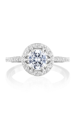 Tacori Crescent Chandelier Engagement Ring HT2568RD6W