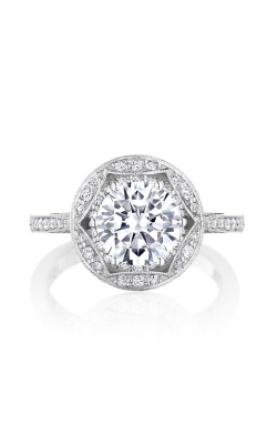 Tacori Crescent Chandelier Engagement Ring HT2564RD8W