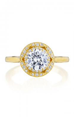 Tacori Crescent Chandelier Engagement Ring HT2563RD65Y