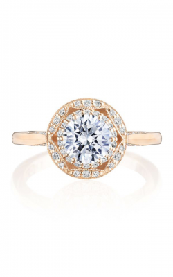 Tacori Crescent Chandelier Engagement ring HT2563RD65PK product image