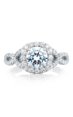 Tacori Petite Crescent Engagement ring HT2549CU65W product image