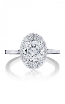 Tacori Inflori Engagement ring HT2575RDOV75W product image