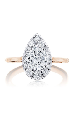 Tacori Inflori Engagement Ring HT2577RDPS7PKW product image