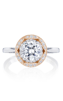 Tacori Crescent Chandelier Engagement Ring HT2569RD7PK product image