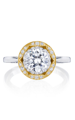 Tacori Crescent Chandelier Engagement Ring HT2569RD7Y