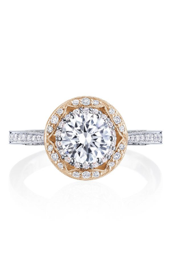 Tacori Crescent Chandelier Engagement ring HT2570RD65PK product image