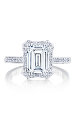Tacori Coastal Crescent Engagement ring P1032EC85X65FW product image