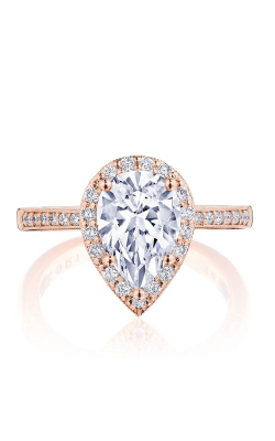Tacori Coastal Crescent Engagement ring, P1032PS10X7FPK product image