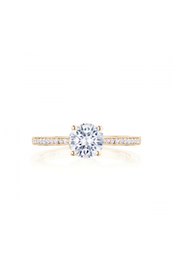 Tacori Coastal Crescent Engagement ring P102RD65FPK product image