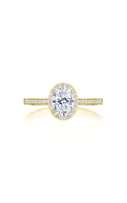 Tacori Coastal Crescent Engagement ring P103OV75X55FY product image