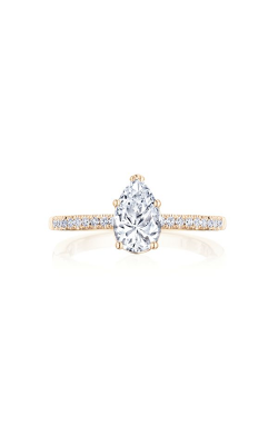 Tacori Coastal Crescent Engagement ring P104PS85X55FPK product image