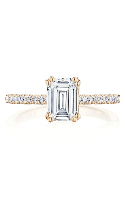 Tacori Coastal Crescent Engagement ring P104EC75X55FPK product image