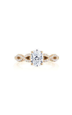 Tacori Coastal Crescent Engagement ring P105OV75X55FPK product image