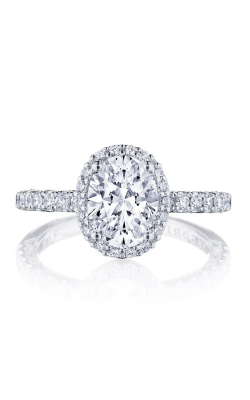 Tacori Petite Crescent Engagement ring HT2572OV85X65PK product image